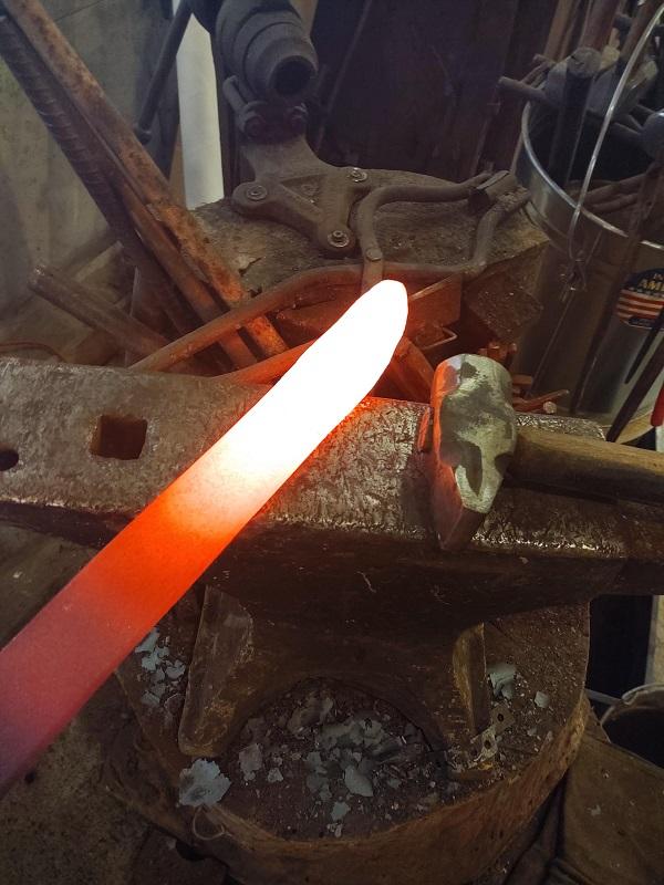 Forging a Custom Made Knife