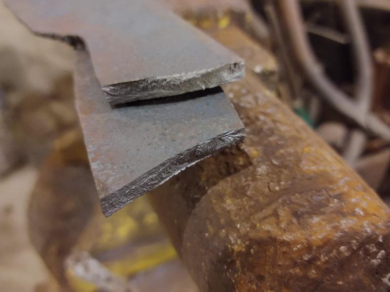 Knife 56 – Forged Hunter (broke cold forging)